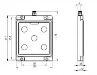 ВП 130х160 мм (односторонняя)
