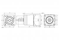 Планетарный редуктор AF060-5-S2-P2 (5:1)