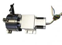 Поворотная ось  с волновым редуктором 14-50-100В