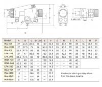 Распылитель краски WA-101-1.8
