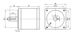 Планетарный редуктор PL86-25 (1:25)