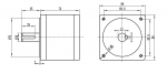 Планетарный редуктор PL86-10 (1:10)