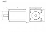 Шаговый двигатель 3-х фазный 57mm YK368A