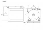 Шаговый двигатель 3-х фазный 86mm YK3910A