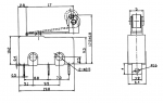 Микропереключатель MSW-13