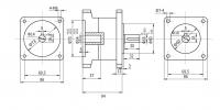 Планетарный Редуктор 86мм PX86N024 (1:24)
