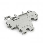 Терминальный блок MBKKB 2.5D серый двойной
